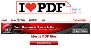 【ilovepdf.com】MergePDF(複数のPDFファイルを1つのPDFファイルに結合)【使い方】