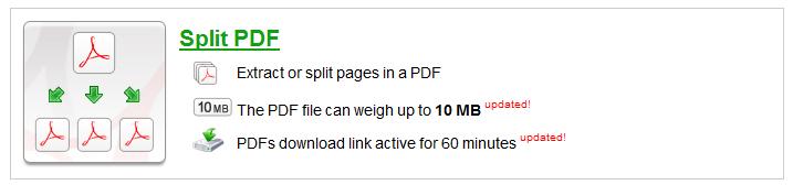【ilovepdf.com】SplitPDF(1つのPDFファイルを複数のPDFファイルに分割・抽出)【使い方】